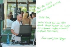 Dankschreiben an DJ-Service-Bayern