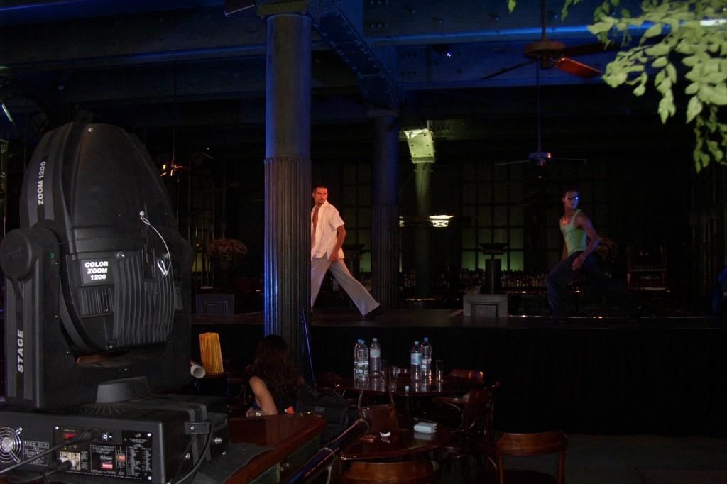 DJ at work im Alcantara Lissabon