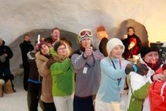 Party im Igludorf Zugspitze